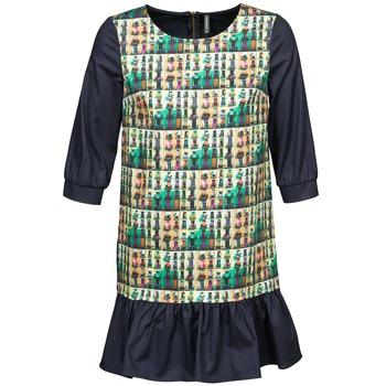textil Dame Korte kjoler Naf Naf ECAPS Sort / Flerfarvet