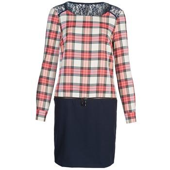textil Dame Korte kjoler Naf Naf KLEMS Marineblå / Rød