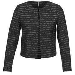 textil Dame Jakker / Blazere Naf Naf LYMINIE Grå / Sort