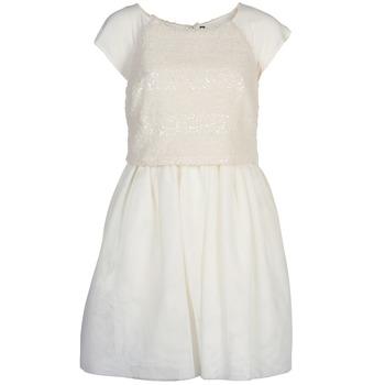 textil Dame Korte kjoler Naf Naf LYMELL Hvid