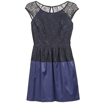 textil Dame Korte kjoler Naf Naf LYLITA Sort / Marineblå