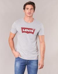 textil Herre T-shirts m. korte ærmer Levi's GRAPHIC SET-IN Grå