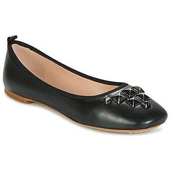 Sko Dame Ballerinaer Marc Jacobs CLEO STUDDED Sort