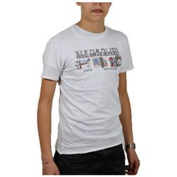 textil Børn T-shirts m. korte ærmer Napapijri