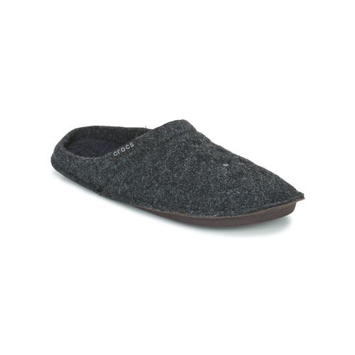 Sko Tøfler Crocs CLASSIC SLIPPER Sort