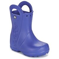 Sko Børn Gummistøvler Crocs HANDLE IT RAIN BOOT Blå