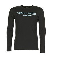 textil Herre Langærmede T-shirts Teddy Smith TICLASS 3 ML Sort