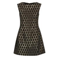 textil Dame Korte kjoler Molly Bracken DIRCO Sort / Guld
