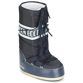 Sko Vinterstøvler Moon Boot MOON BOOT NYLON Denim