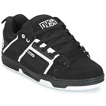 Sko Herre Lave sneakers DVS COMANCHE Sort / Hvid