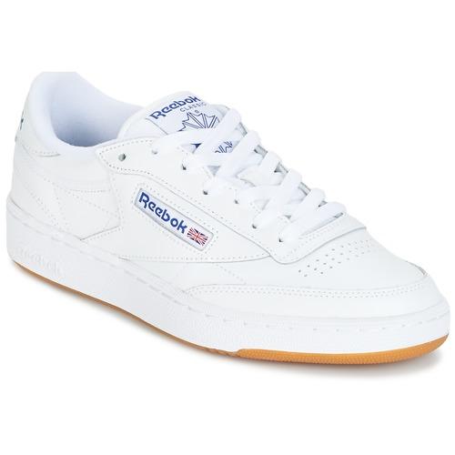 Sko Lave sneakers Reebok Classic CLUB C 85 Hvid