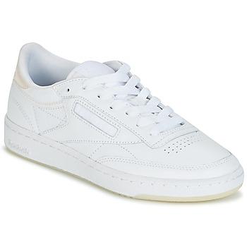 Sko Dame Lave sneakers Reebok Classic CLUB C 85 L THR Hvid