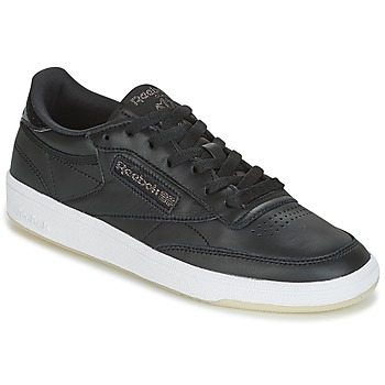Sko Dame Lave sneakers Reebok Classic CLUB C 85 LTHR Sort