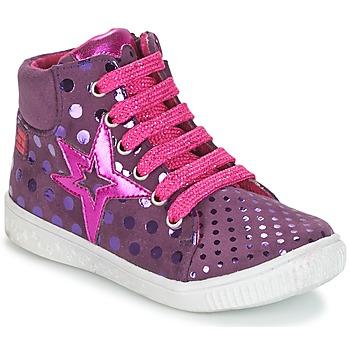 Sko Pige Høje sneakers Agatha Ruiz de la Prada FLOW Violet