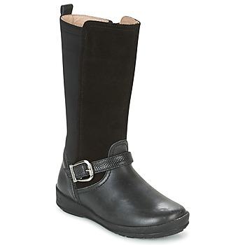 Sko Pige Chikke støvler Garvalin NEW FLORES Sort