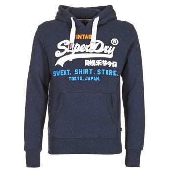 textil Herre Sweatshirts Superdry SHIRT STORE TRI Marineblå