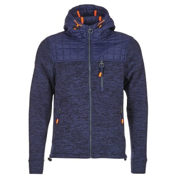 textil Herre Sweatshirts Superdry MOUNTAIN QUILTED SHERPA Marineblå