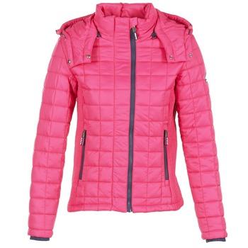 textil Dame Dynejakker Superdry FUJI BOX QUILTED Pink
