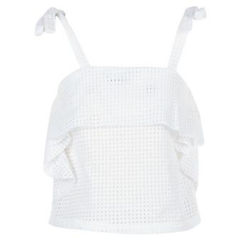 textil Dame Toppe / Bluser Moony Mood GEMA Hvid