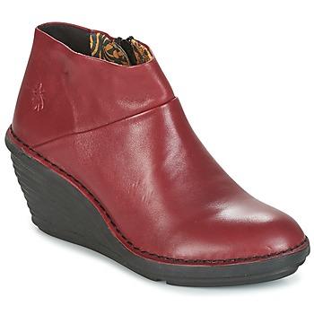 Sko Dame Støvler Fly London SIPI 671 Rød