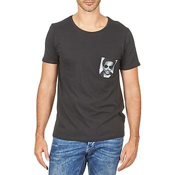 textil Herre T-shirts m. korte ærmer Eleven Paris LENNYPOCK Hvid