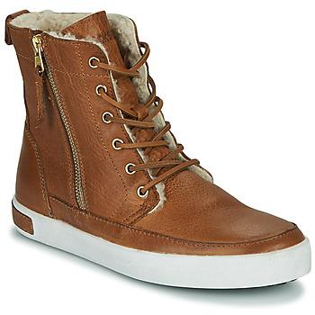 Sko Dame Høje sneakers Blackstone CW96 Brun
