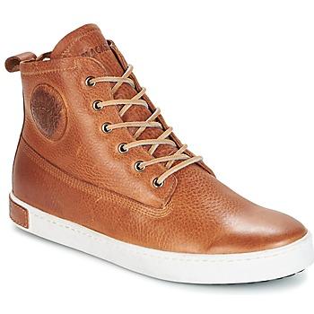 Sko Herre Høje sneakers Blackstone GM06 Brun