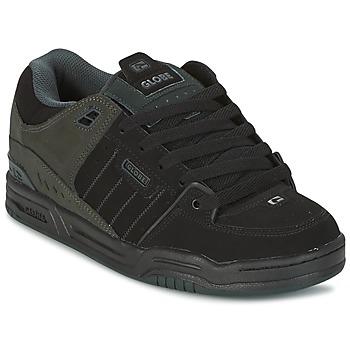 Sko Herre Lave sneakers Globe FUSION Sort