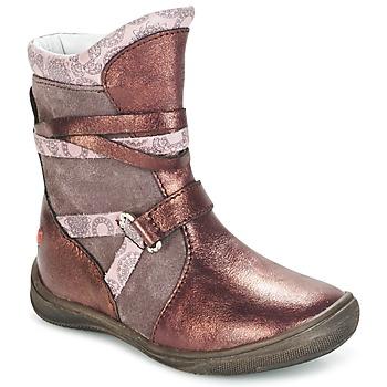 Sko Pige Støvler GBB ROSANA Pink / Bordeaux