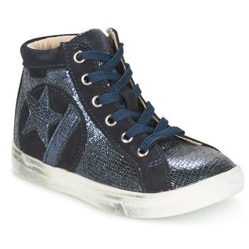 Sko Pige Høje sneakers GBB MARTA Vtc / Marineblå / Dpf / Dolby