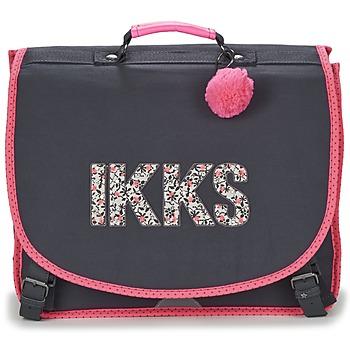 Tasker Pige Skoletasker Ikks ROCK CARTABLE 41CM Sort / Pink