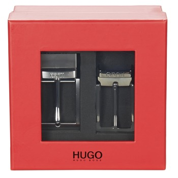 Accessories Herre Bælter HUGO-Hugo Boss GIBILSY Sort