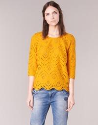 textil Dame Toppe / Bluser Betty London GRIZ Gul