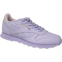 Sko Børn Sneakers Reebok Sport Classic Leather BD5543 Violet