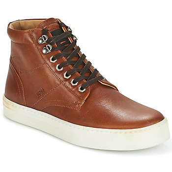 Sko Herre Høje sneakers Hugo Boss Orange NOIR HALB LTWS Cognac