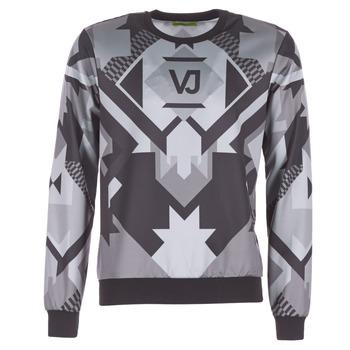 textil Herre Sweatshirts Versace Jeans B7GQA7F5 Sort / Grå