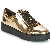 Sko Dame Lave sneakers MICHAEL Michael Kors TRAVOR LACE UP Guld
