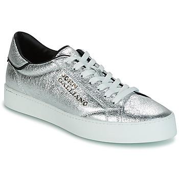 Sko Herre Lave sneakers John Galliano FIUR Sølv