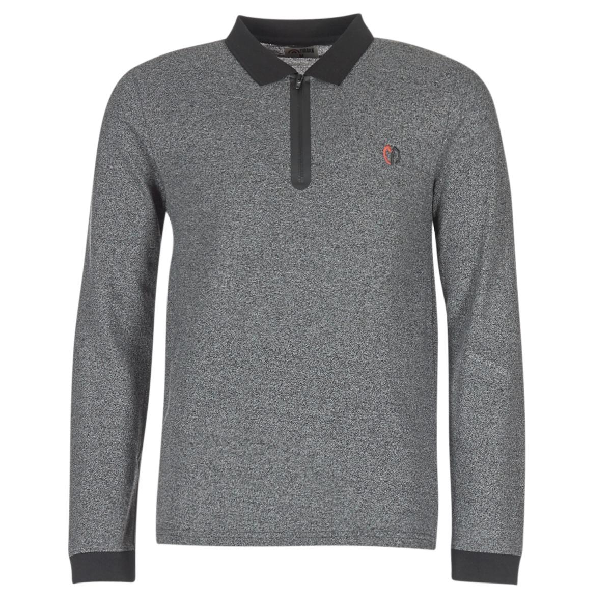 Polo-t-shirts m. lange ærmer Yurban  HERDEN