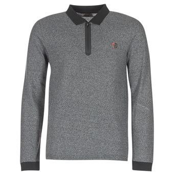 textil Herre Polo-t-shirts m. lange ærmer Yurban HERDEN Grå
