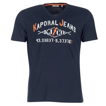 textil Herre T-shirts m. korte ærmer Kaporal MAKAO Marineblå