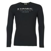 textil Herre Langærmede T-shirts Kaporal PONIO Sort