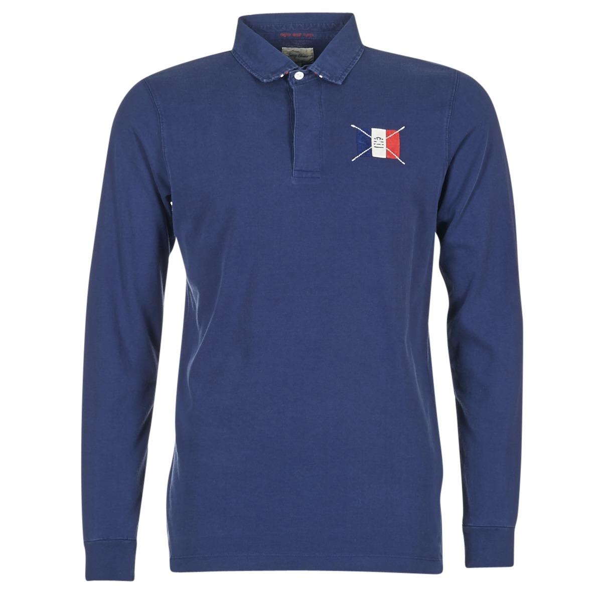 Polo-t-shirts m. lange ærmer Serge Blanco  POCHON