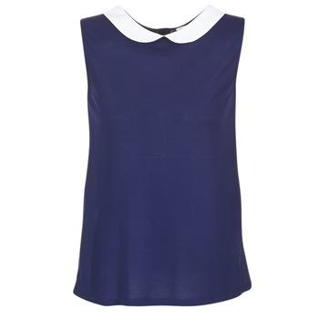 textil Dame Toppe / Bluser Naf Naf OCHOUPI Marineblå