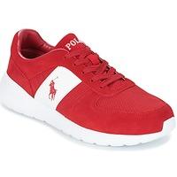 Sko Herre Lave sneakers Ralph Lauren CORDELL Rød
