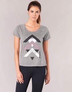textil Dame T-shirts m. korte ærmer Only Play LINDA Grå