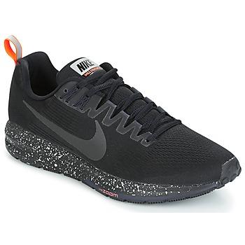 Sko Herre Løbesko Nike AIR ZOOM STRUCTURE 21 SHIELD Sort