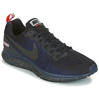 Sko Herre Løbesko Nike AIR ZOOM PEGASUS 34 SHIELD Sort / Blå