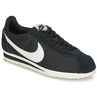 Sko Dame Lave sneakers Nike CLASSIC CORTEZ NYLON W Sort / Hvid