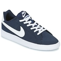 Sko Børn Lave sneakers Nike COURT ROYALE GRADE SCHOOL Blå / Hvid